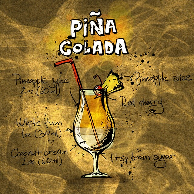 Cocktail, Pina Colada, Alcohol, Party, Recipe, Drink