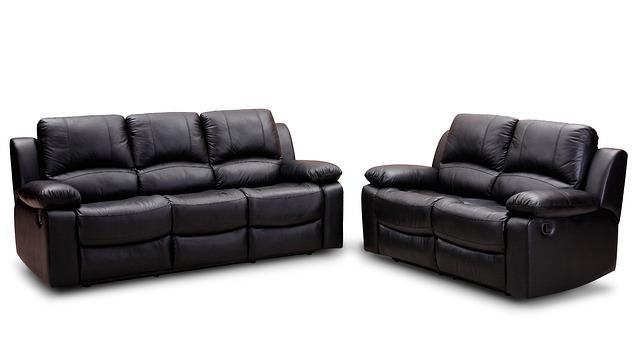 Leather Sofa, Recliner Sofa, Furniture, Lounge Suite
