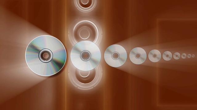 Music, Disc, Disk, Retro, Dvd, Audio, Sound, Record