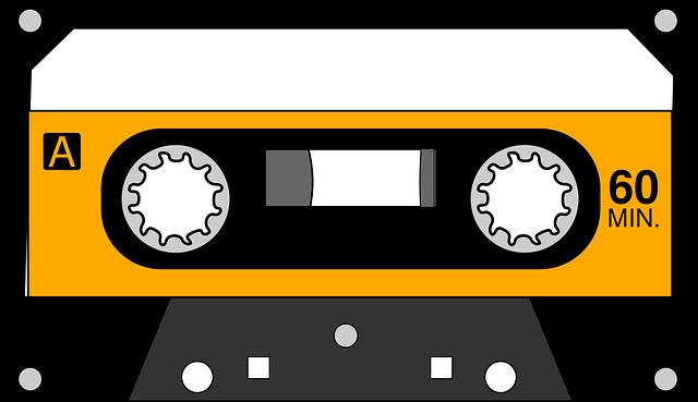 Cassette, Music Format, Recording, Tape