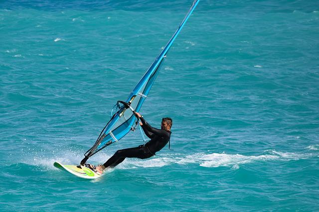 Windsurfing, Surfer, Recreation, Leisure, Sea, Fun