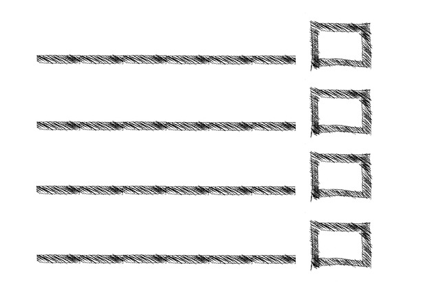 Rectangle, List, Lines, Shopping List, Box, Sketch