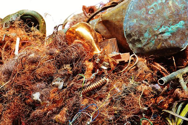 Copper, Scrap Metal, Scrap, Disposal, Recycling, Reuse