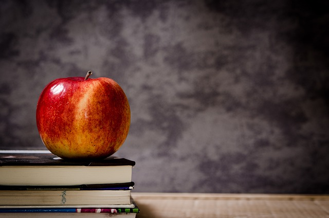 Apple, Education, School, Knowledge, Apples, Red, Book