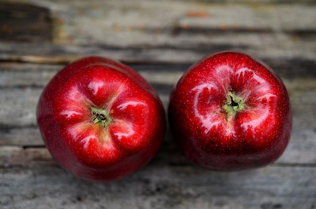 Apples, Red, Ripe, Fresh, Red Apples, Fruits, Harvest
