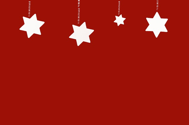 Christmas, Star, Background, Red, Text Freedom