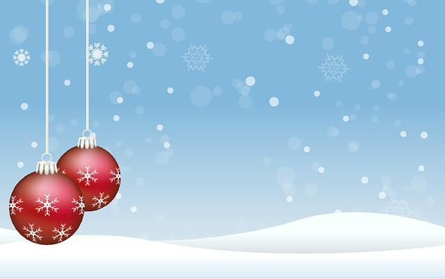 Christmas, Balls, Christmas Balls, Red