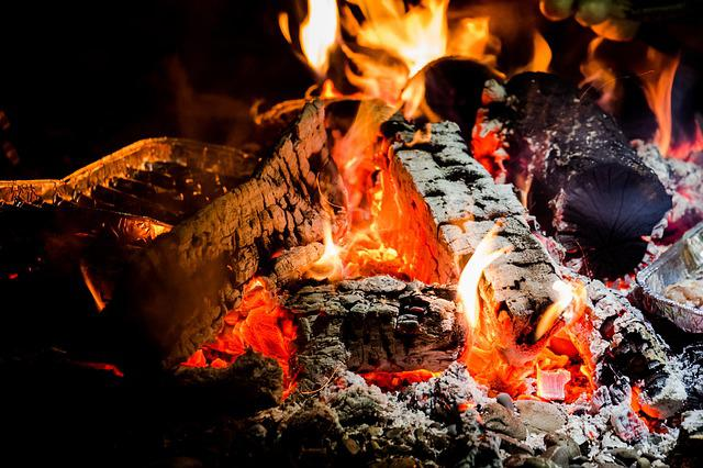 Fire, Flame, Campfire, Barbecue, Firewood, Embers, Red