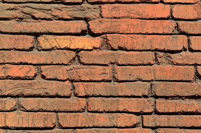 Red Brick, Wall, Exterior, Background, Backdrop