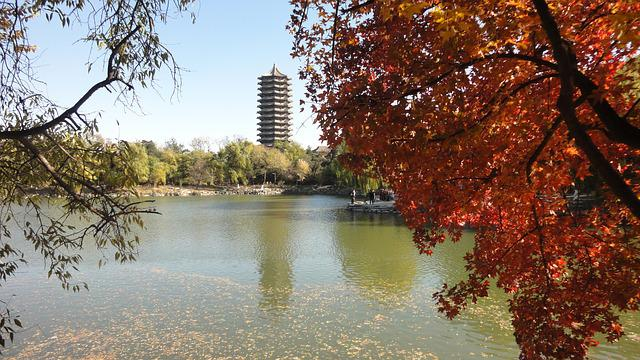 China, Tourism, The Scenery, Autumn, Red