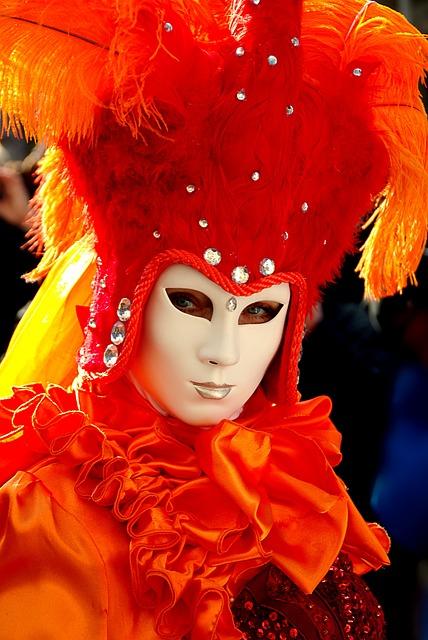 Carnival, Schwäbisch Hall, Costume, Red, Color