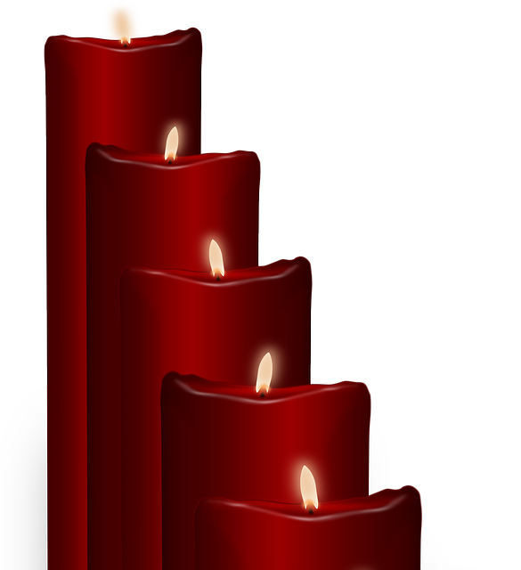 Candles, Wax Candle, Red, Christmas, Decoration, Flame