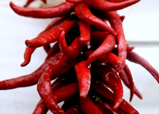Chili, Peppers, Red, Dry, Dried, Spicy, Hot, Organic