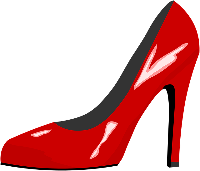 Red Shoe, High Heel, Red, Fashion, High Heels, High