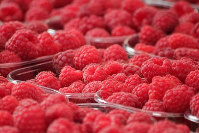 Raspberries, Fruits, Berries, Fruit, Red, Food, Berry
