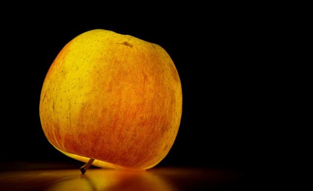 Apple, Fruit, Healthy, Ripe, Illuminated, Fresh, Red