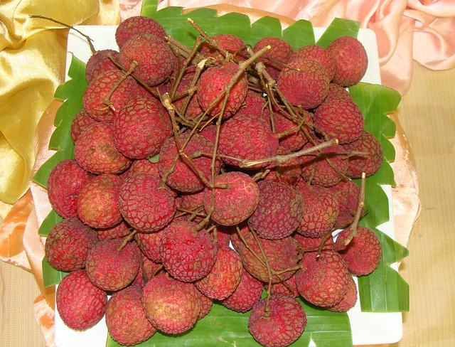 Lychee, Litchi Chinensis, Litchi, Fruit, Sweet, Red