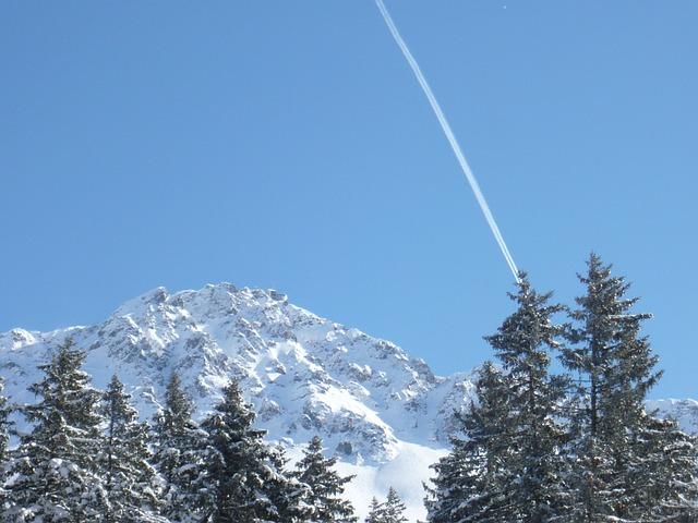 Red Horn, Alpine, Mountain, Switzerland, Nature, Sky
