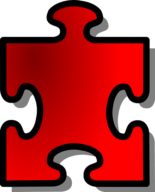 Jigsaw, Puzzle, Shape, Piece, Red, Join, Part