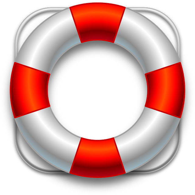 Floating Ring, Belt, Help, Lifesaver, Red, White
