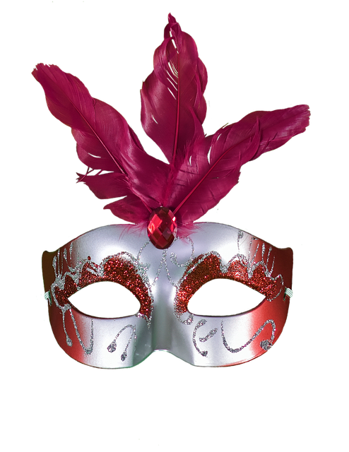 Red, Carnival, Mask, Masquerade, Party, Colorful