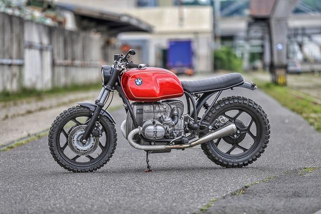 Motorcycle, Red, Motorcycles, Bmw, Motorsport, Motor