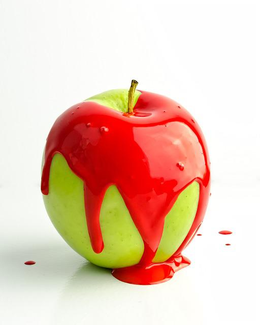 Self-esteem, Depression, Apple, Red Paint, Angry