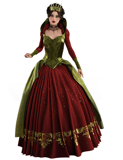 Christmas, Queen, Women, Crown, Enchanted, Pretty, Red