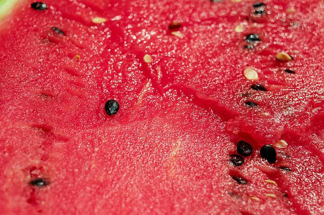Melon, Watermelon, Pulp, Red, Section, Nuclear