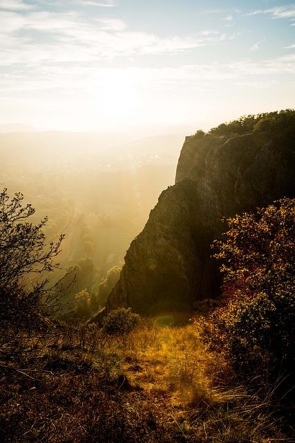 Red Rock, Rock, Landscape, Nature, Autumn, Landscapes