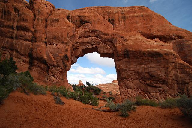 Arches National Park, Red Rocks, Red, Park, Desert