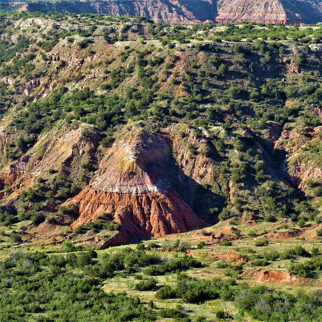 Sunrise, Palo Duro Canyon, North Texas, Red Sand Stone