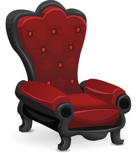 Chair, Red, Comfortable, Seating, Seat, Seated
