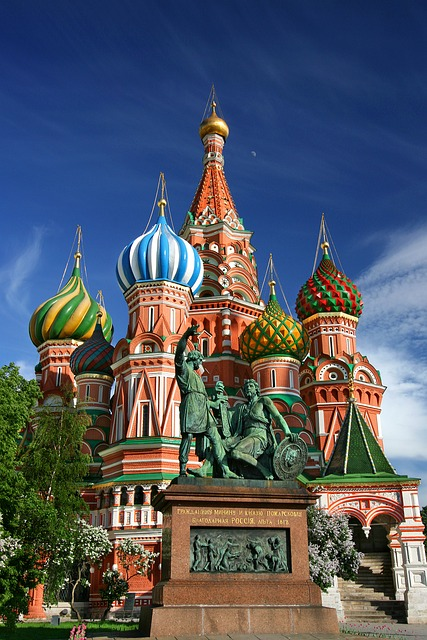 Moscow, Saint Basil's Cathedral, Red Square, Russia