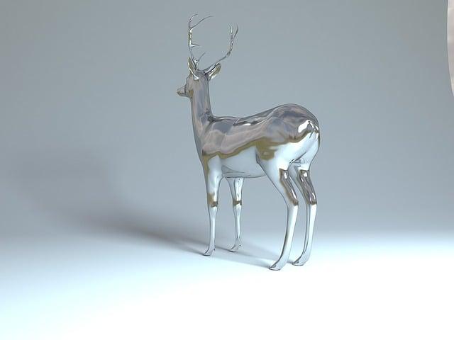 Roe Deer, Bock, Bambi, Redesign, Deer Design