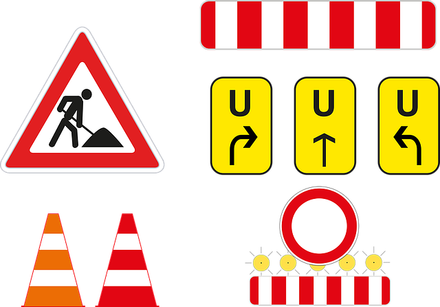 Site, Redirect, Barrier, Pylons, Cone