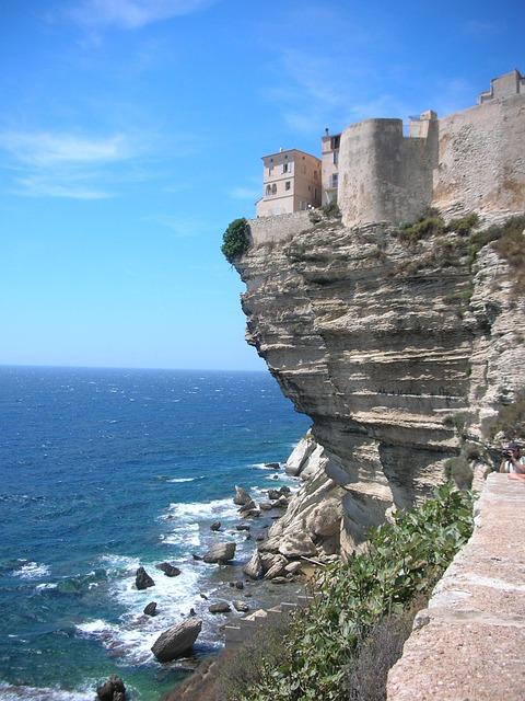 Corsica, Bonafacio, Sea, Reef