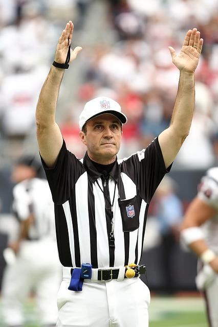 Referee, Professional Football, Touchdown, Official