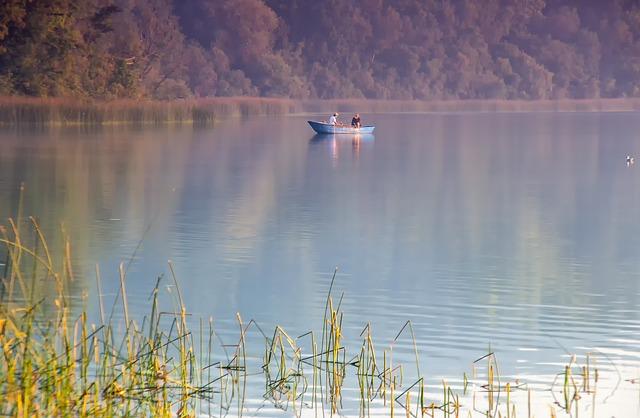 Waters, Reflection, Lake, Nature, Angler, Boot
