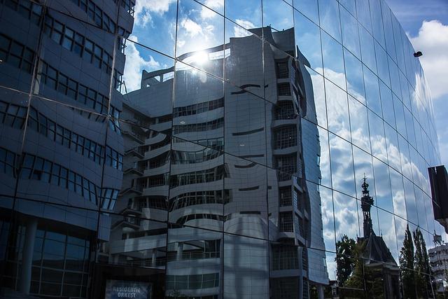 Architecture, Buildings, Reflection, The Hague