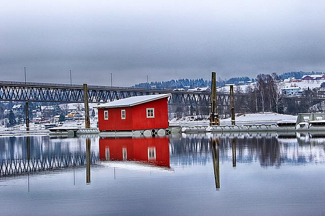 Water, Winter, Outdoors, Reflection, Horizontal Plane