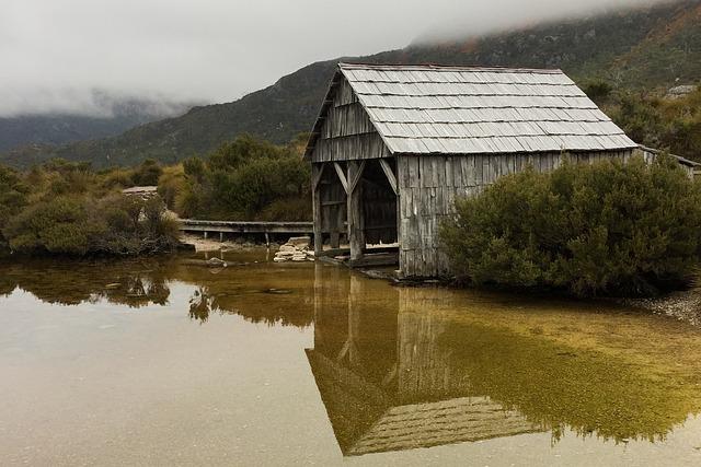 Dove Lake, Lake, Reflection, Cradle Mountain