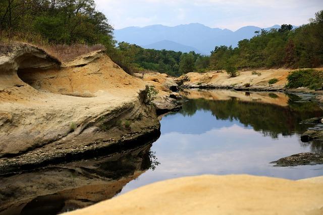 Water, Nature, Landscape, Torrent, Reflection, Stream