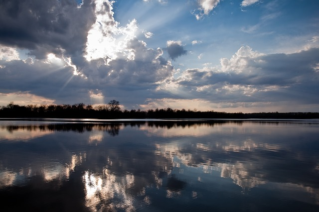 Reflection, Water, Lake, Landscape