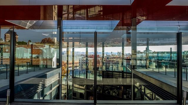 Glass, Reflection, Architecture, Modern, Madrid