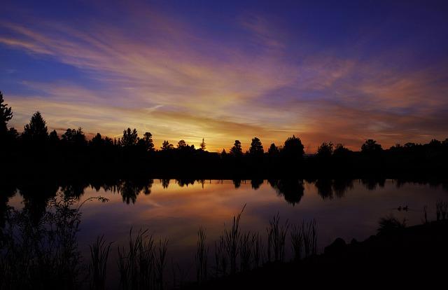 Dawn, Dusk, Lake, Nature, Outdoors, Placid, Reflection