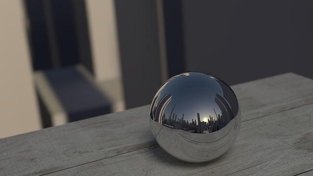 Mirroring, Ball, Reflection, Mirror, Round, Reflex