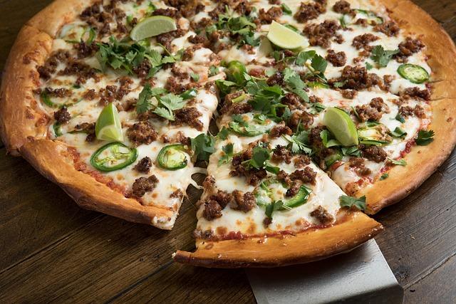 Pizza, Cheese, Mozzarella, Refreshment, Food, Jalapeño
