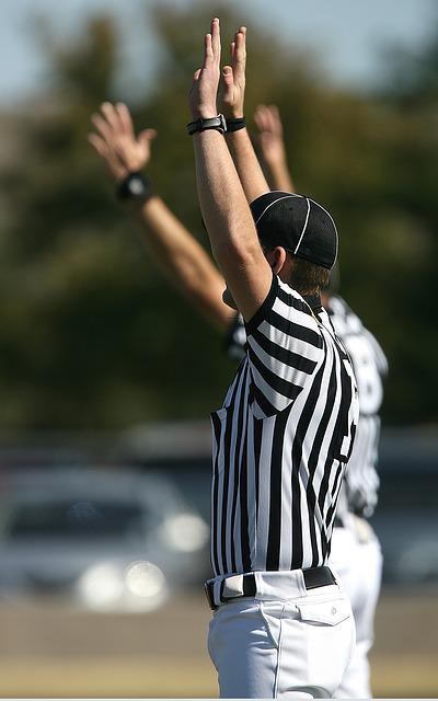 American Football, Football Officials, Referees, Refs