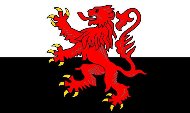 Flag, Poitou-charentes, France, Region, Symbol, Poitou